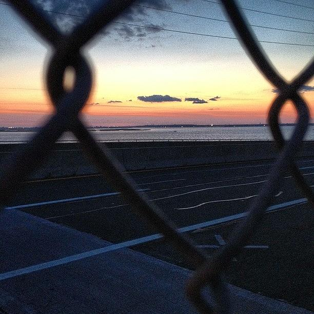 Beach Photograph - Through the Wire by FC Designs