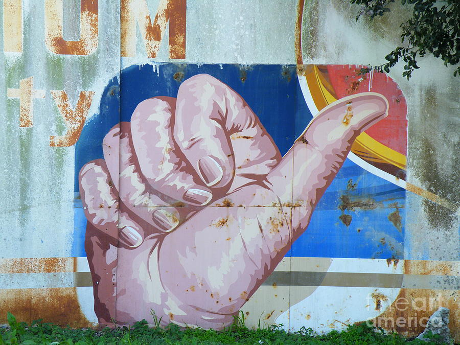 Sign Photograph - Thumbs Up by Joe Jake Pratt