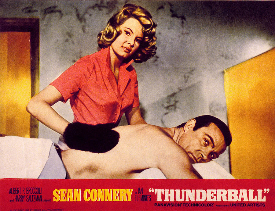 007 Photograph - Thunderball, Molly Peters, Sean by Everett