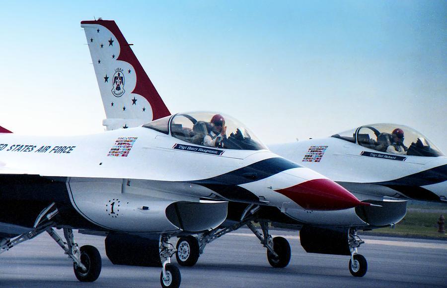 Photograph Photograph - Thunderbirds by Lynnette Johns