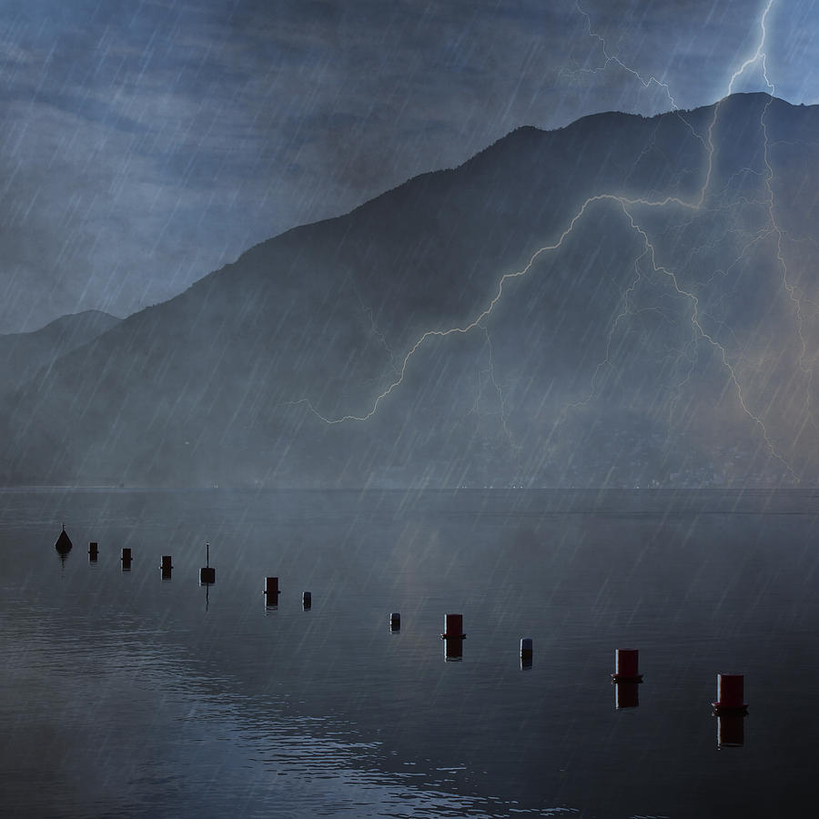 Thunderstorms Photograph - Thunderstorm by Joana Kruse