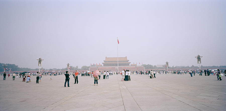 China Photograph - Tiananmen Square In Beijing In China by Shaun Higson