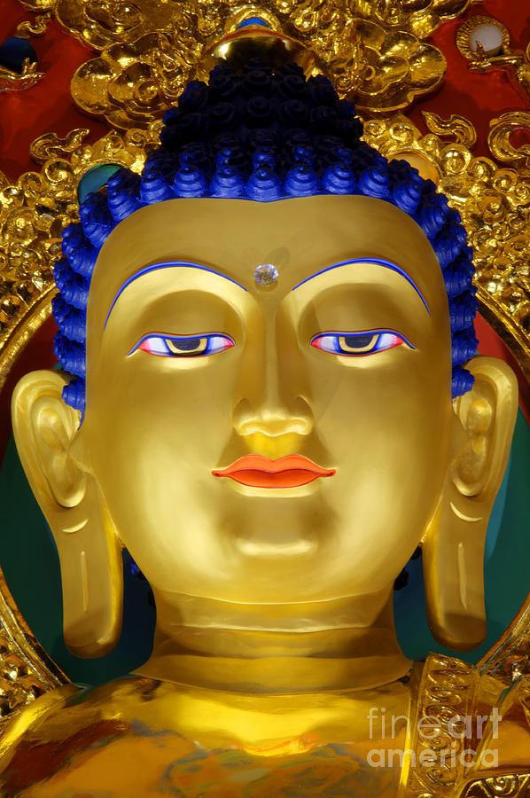 Buddha Photograph - Tibetan Bhudda 3 by Bob Christopher