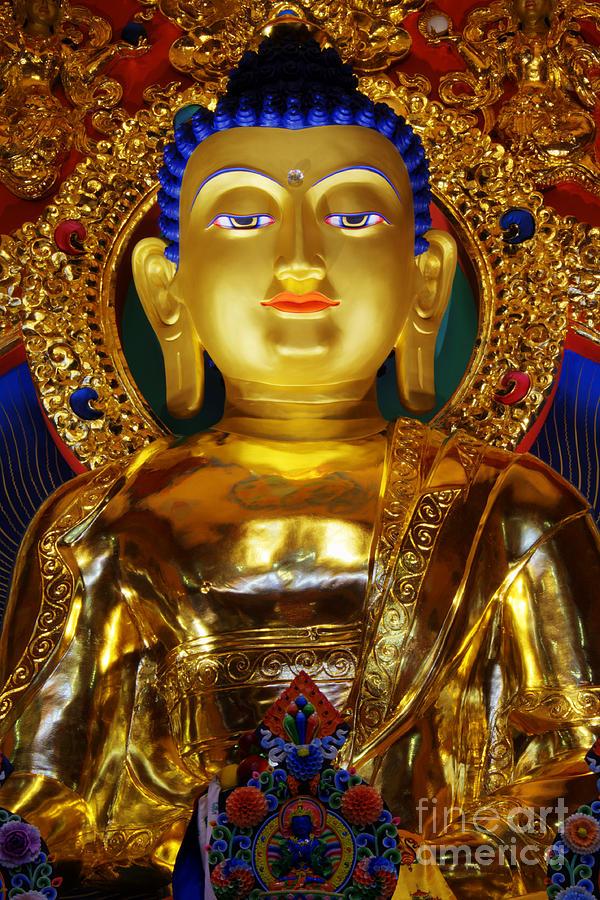 Tibetan Buddha 2 Photograph By Bob Christopher