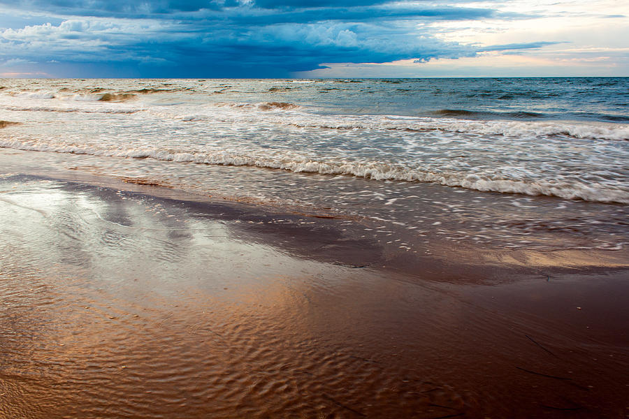 Motion Blur Photograph - Tide by Matt Dobson