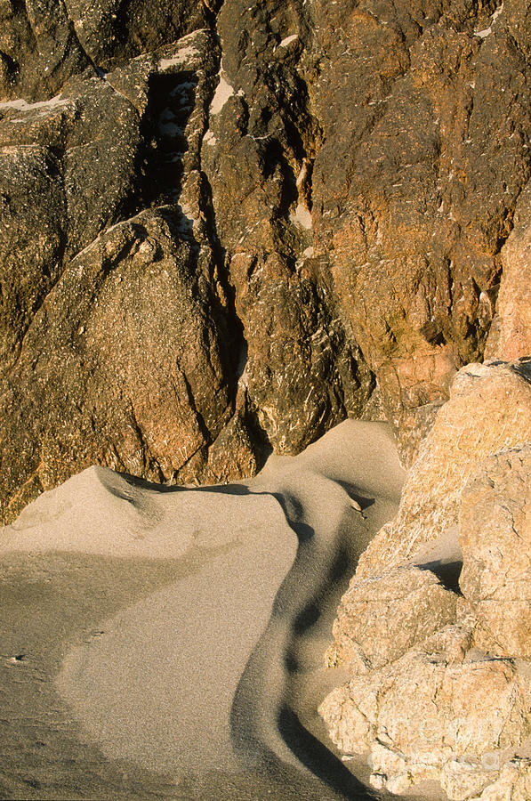 Waterscape Photograph - Tide Sculpture by Sandra Bronstein