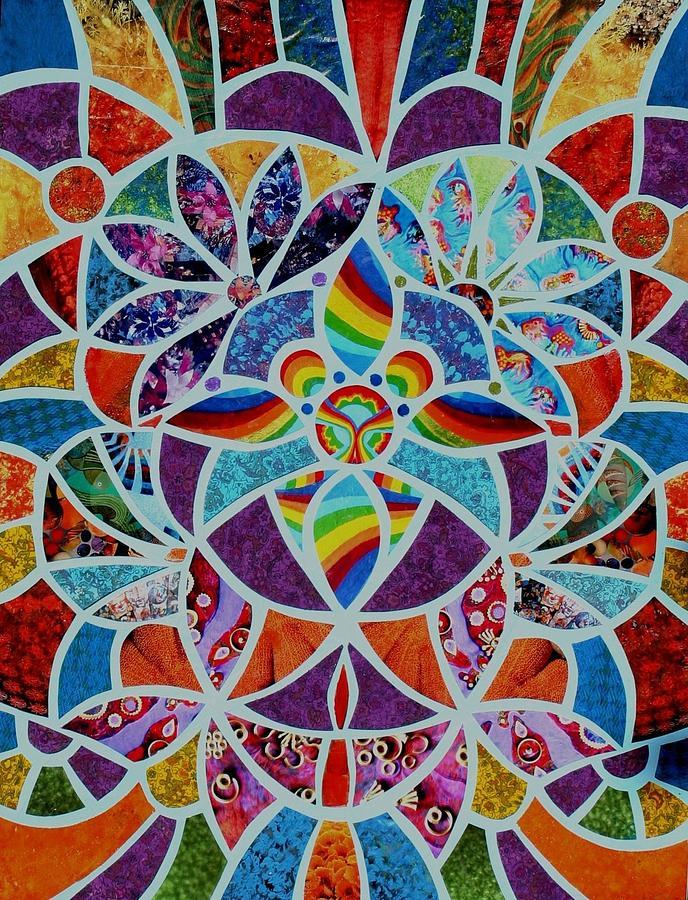 Stain Glass Mixed Media - Tiffany Radiance by Bob Craig