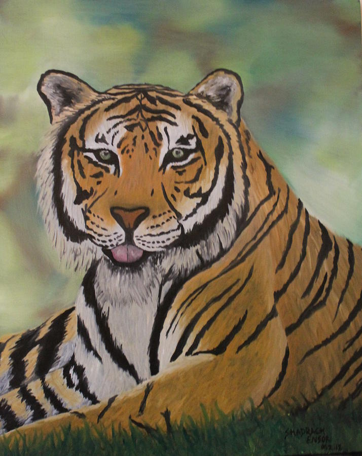 Tiger Painting - Tiger by Shadrach Ensor