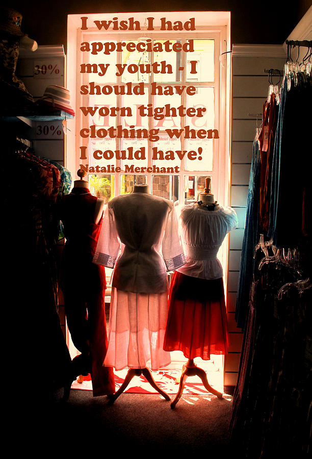 Women Photograph - Tighter Clothing by Ian  MacDonald