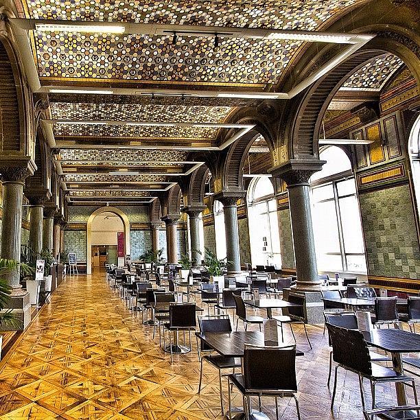 Leeds Photograph - Tiled Hall Cafe Leeds... No Finer Place by Carl Milner