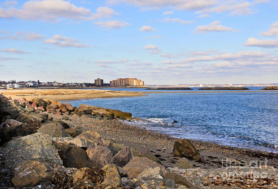 New England Coast Photograph - Time-honored New England Coast by Extrospection Art