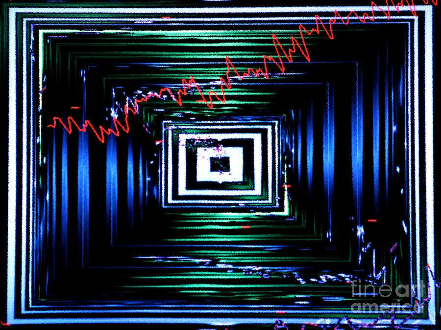 Abstract Photograph - Time Machine 3 by Tashia Peterman