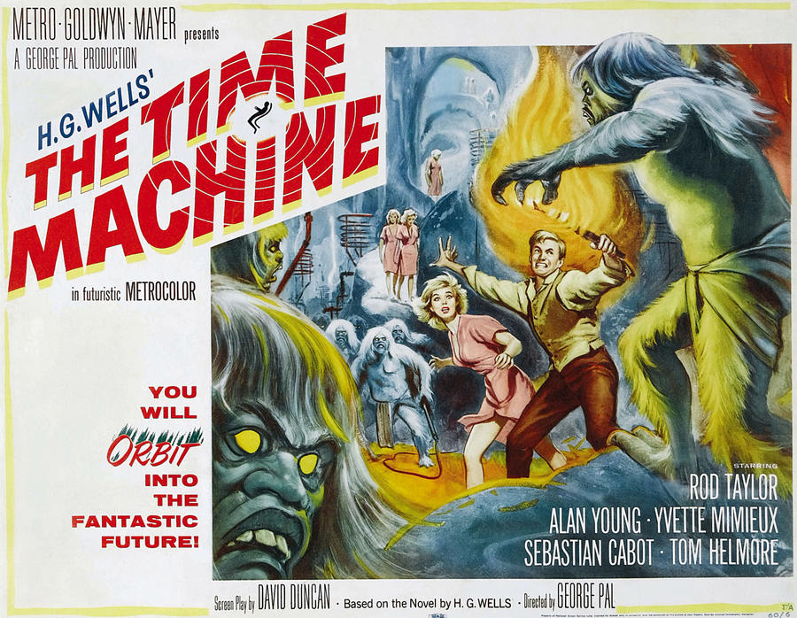 1960 Movies Photograph - Time Machine, The, Yvette Mimieux, Rod by Everett