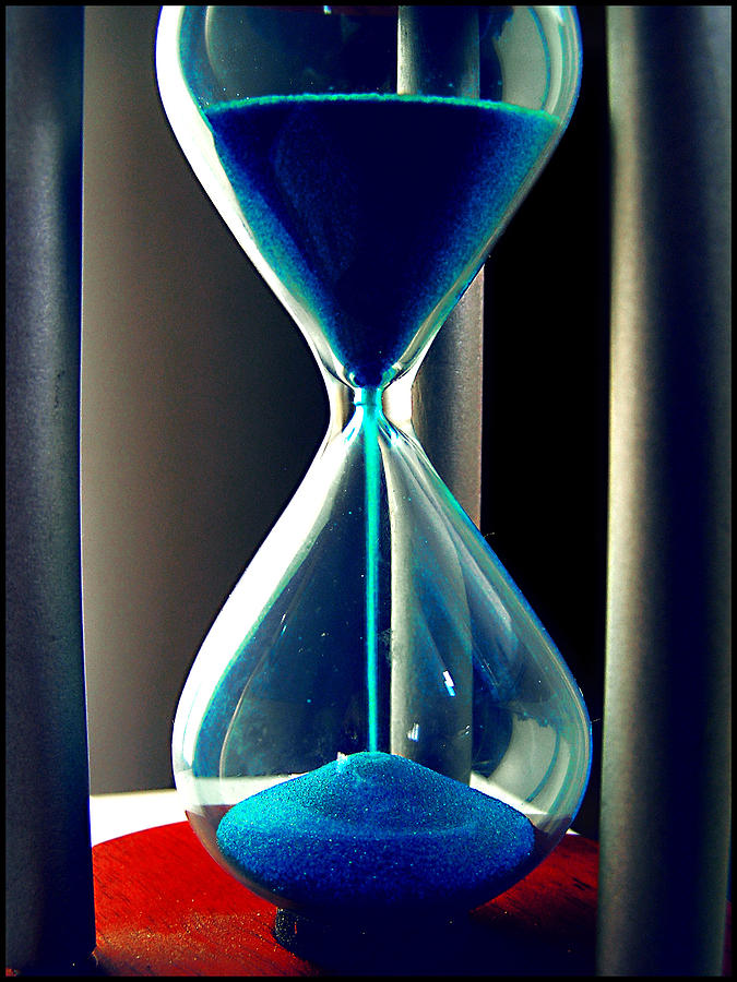 Time Photograph - Time Makes Magic by Guadalupe Nicole Barrionuevo