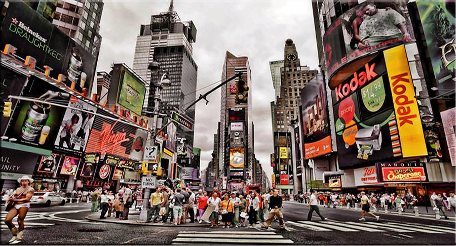 Time Square New York City Photograph By Selahsess Trade
