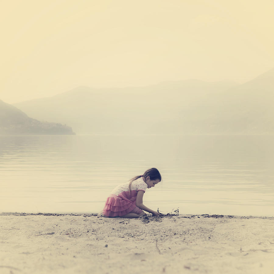 Girl Photograph - Time To Be by Joana Kruse