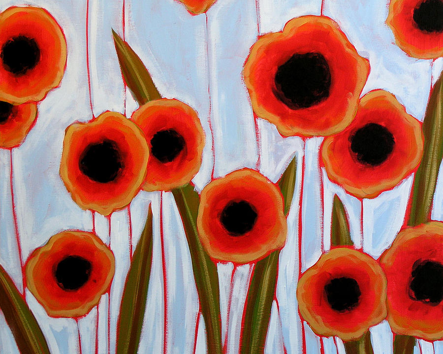 Flowers Painting - Time To Bloom by Amy Giacomelli