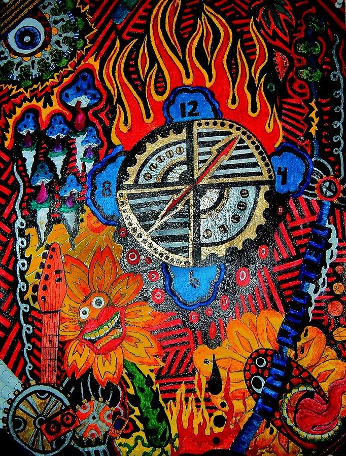 Time Will Tell Painting by Ragdoll Washburn