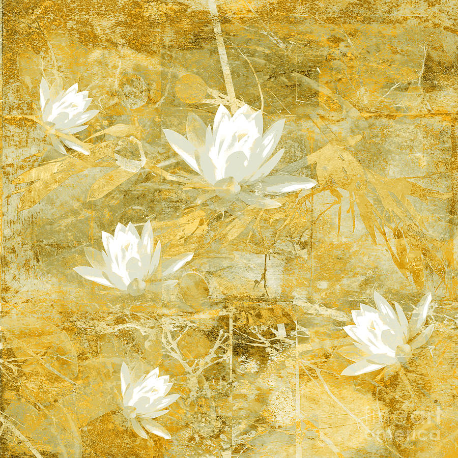 Floral Design Photograph - Timeless Beauty Photo Collage by Ann Powell