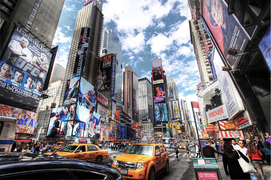 Times Square Photograph - Times Square by Kean Poh Chua