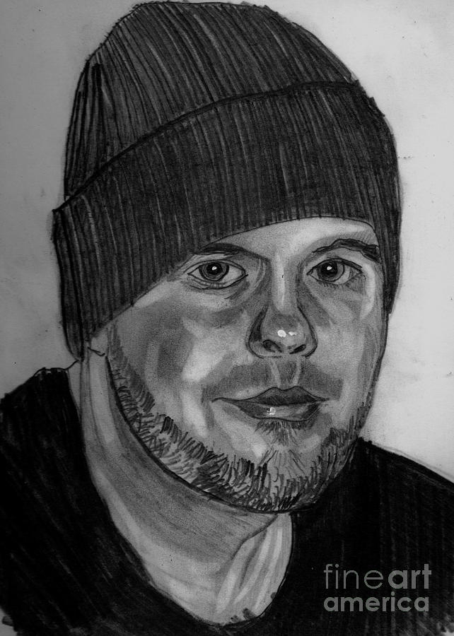 Timothy Jr. Drawing by Timothy Fleming