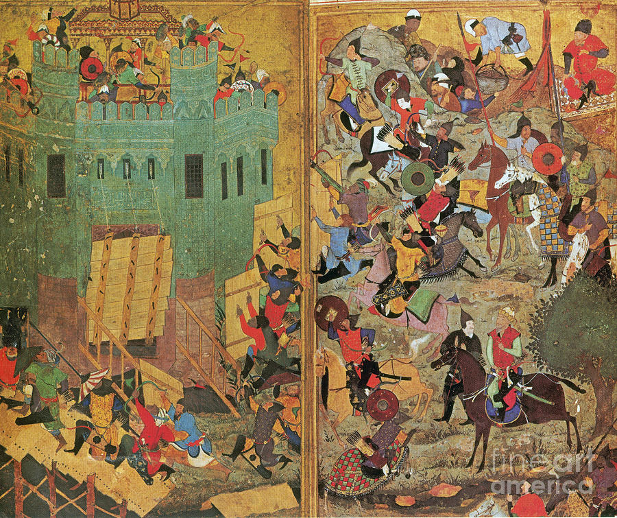 War Photograph - Timur And The Siege Of Smyrna 1402 by Photo Researchers