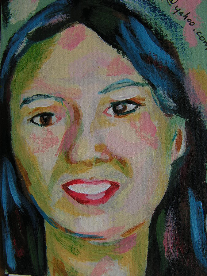 Paintings Painting - Tina by Robert P Hedden