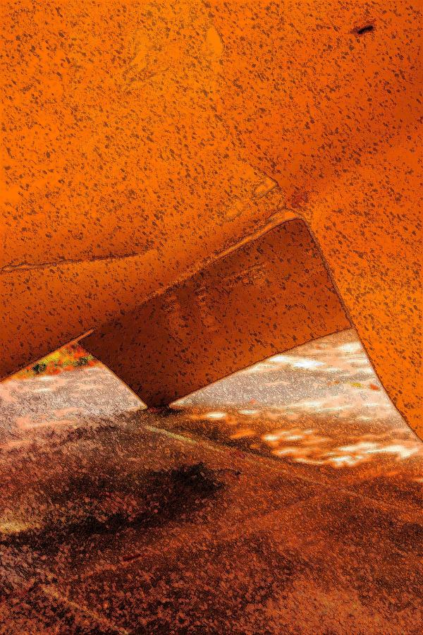 Abstract Photograph - Tipping Point by Marcia Lee Jones