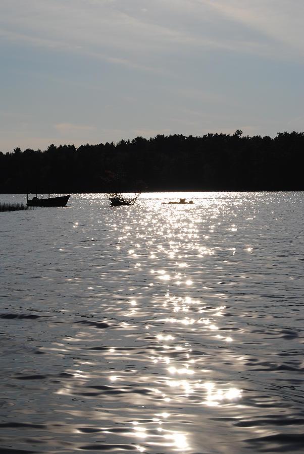 Tispaquin Pond Photograph by Jennifer Powers