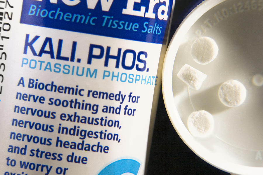 Tissue Salt Photograph - Tissue Salts Homeopathic Remedy by Sheila Terry