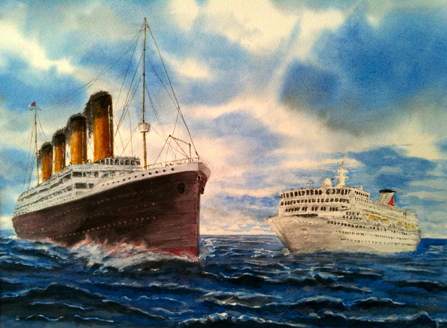 Titanic Meets Balmoral Painting By Brian Longman