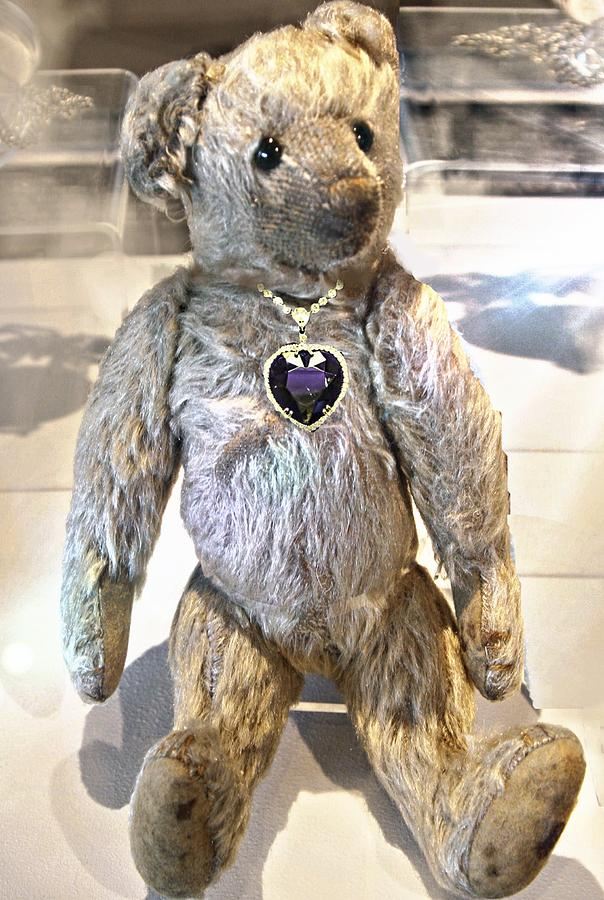 Titanic Teddy Recovered From Titanic Wreckage Digital Art