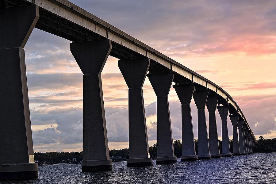 Bridge Photograph - Tj Bridge by Kelly Reber