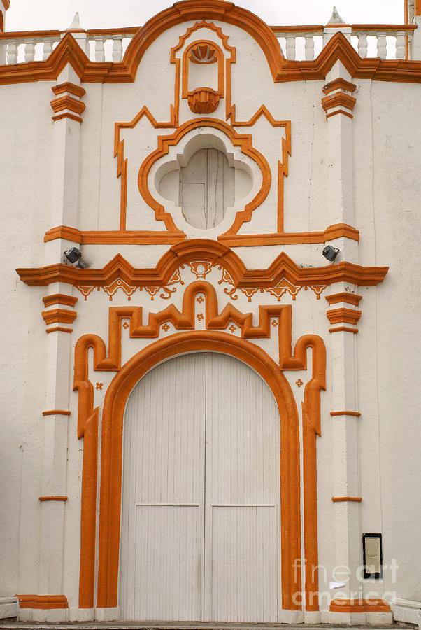 Mexico Photograph - Tlacotalpan Church Veracruz Mexico by John  Mitchell