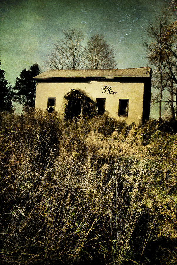Abandoned House Photograph - To The Abandon by Emily Stauring