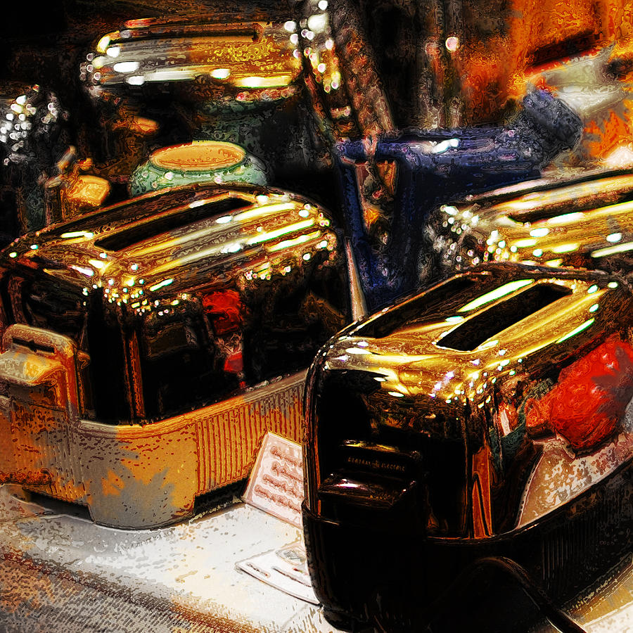 Toasters Photograph - Toasters by Simone Hester