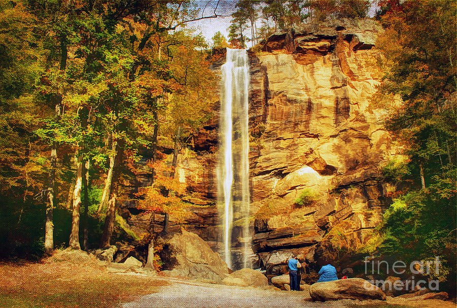 Adventure Photograph - Toccoa Falls by Darren Fisher