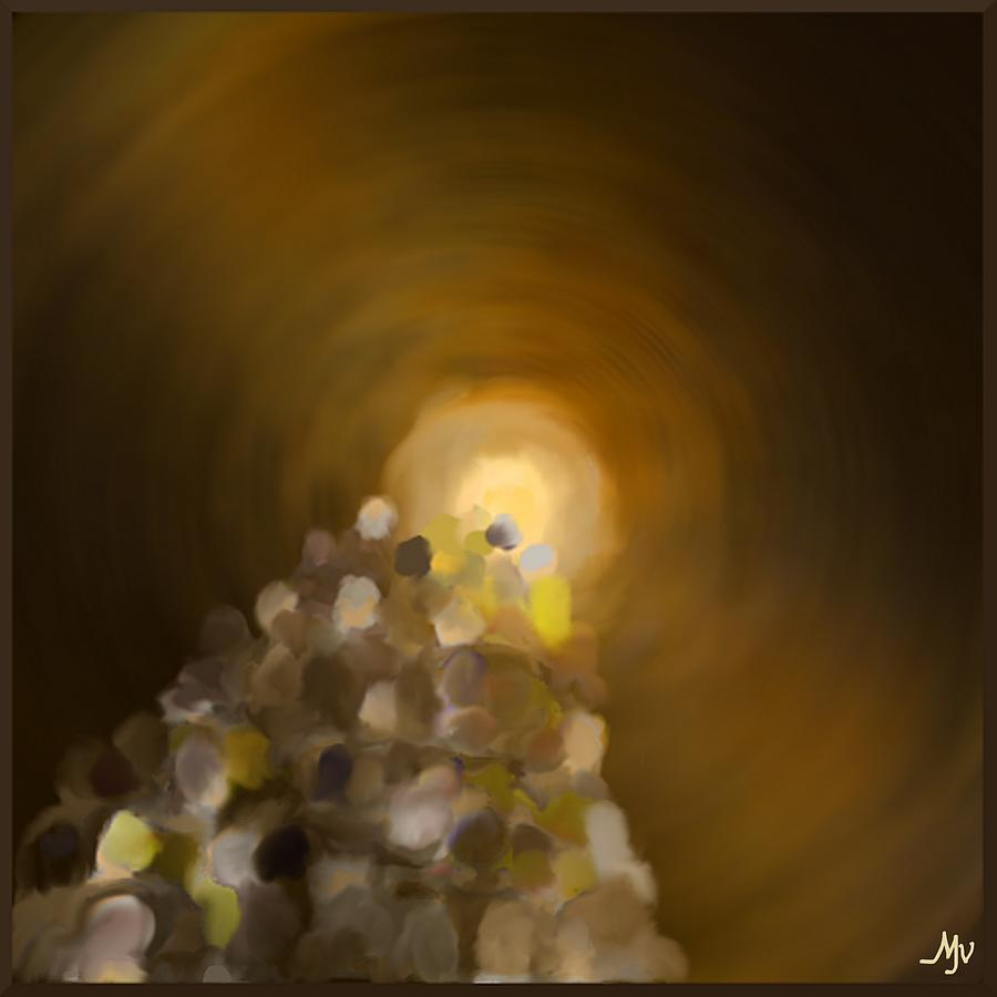 Together Digital Art - Together Into The Bright Unknown by Mathilde Vhargon