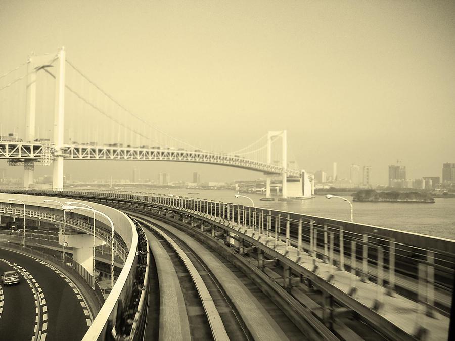 Tokyo Photograph - Tokyo Metro Ride by Naxart Studio