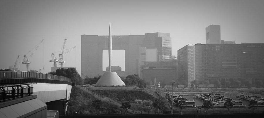 Tokyo Photograph - Tokyo New Constraction by Naxart Studio