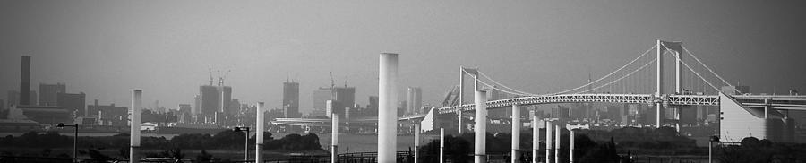 Tokyo Photograph - Tokyo Panorama by Naxart Studio