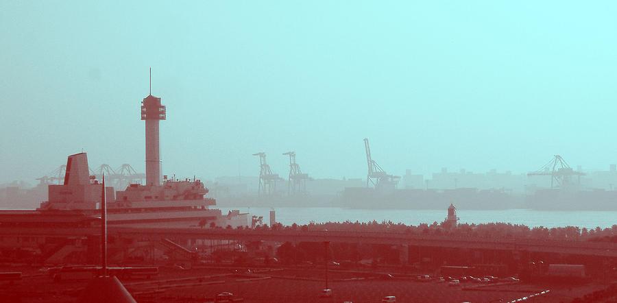 Tokyo Photograph - Tokyo Port by Naxart Studio