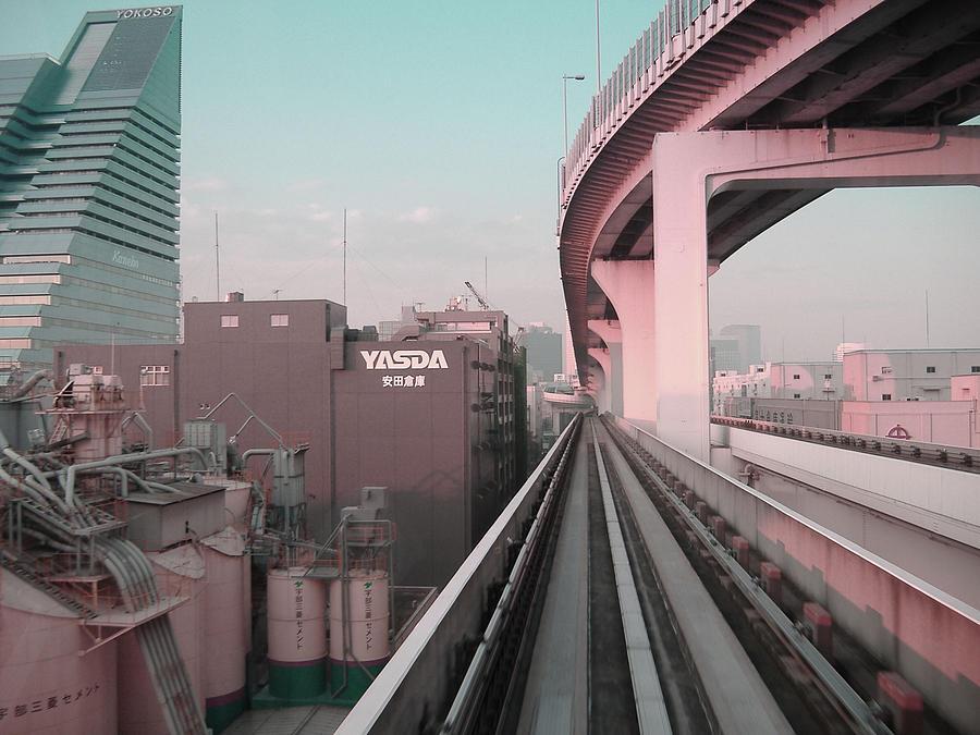 Tokyo Photograph - Tokyo Train Ride 5 by Naxart Studio