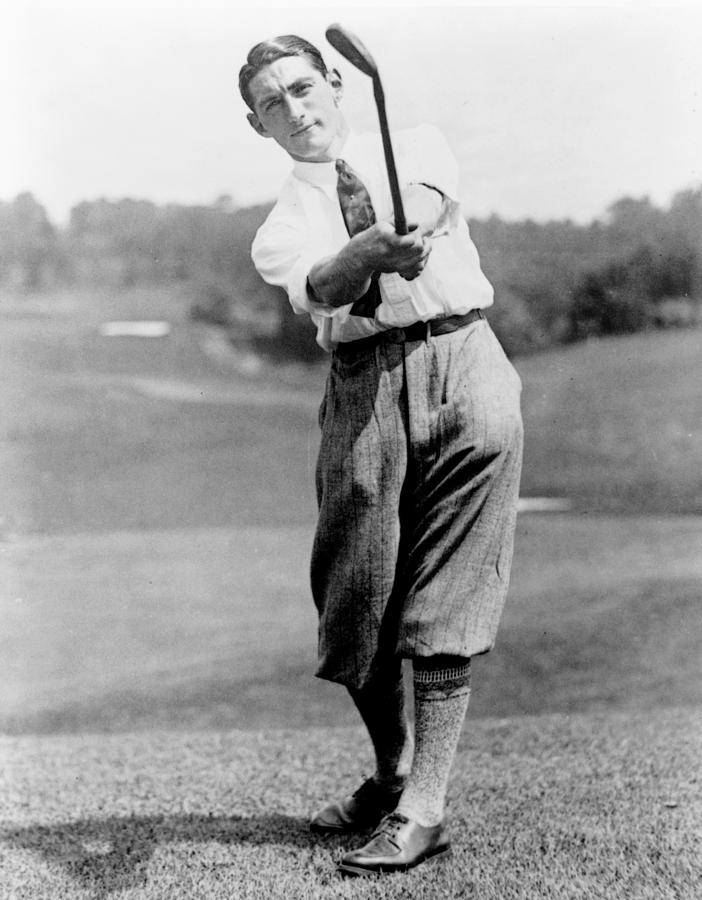 Tom Photograph - Tom Armour Wins Us Golf Title - C 1927 by International  Images