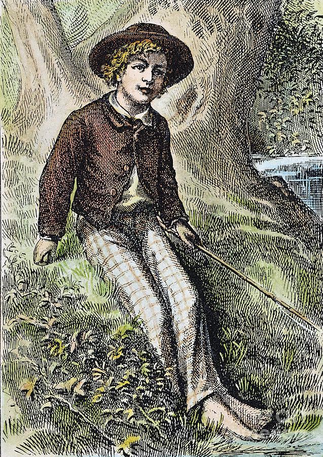 1876 Photograph - Tom Sawyer, 1876 by Granger