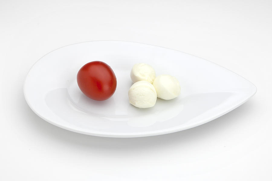 Tomato Photograph - Tomato Mozzarella by Joana Kruse