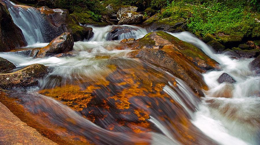 Water Photograph - Tonahutu Creek by Brian Kerls