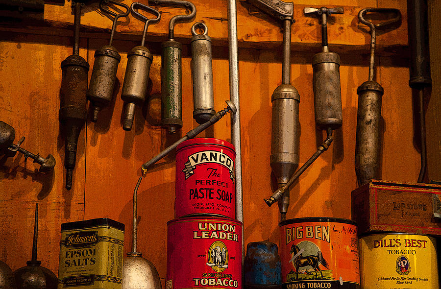 Tools Photograph - Tool Shop by Karol Livote