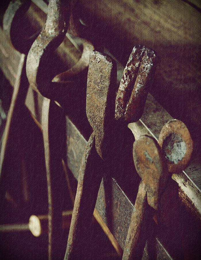 Blacksmiths Photograph - Tools Of The Smith by Steven Milner