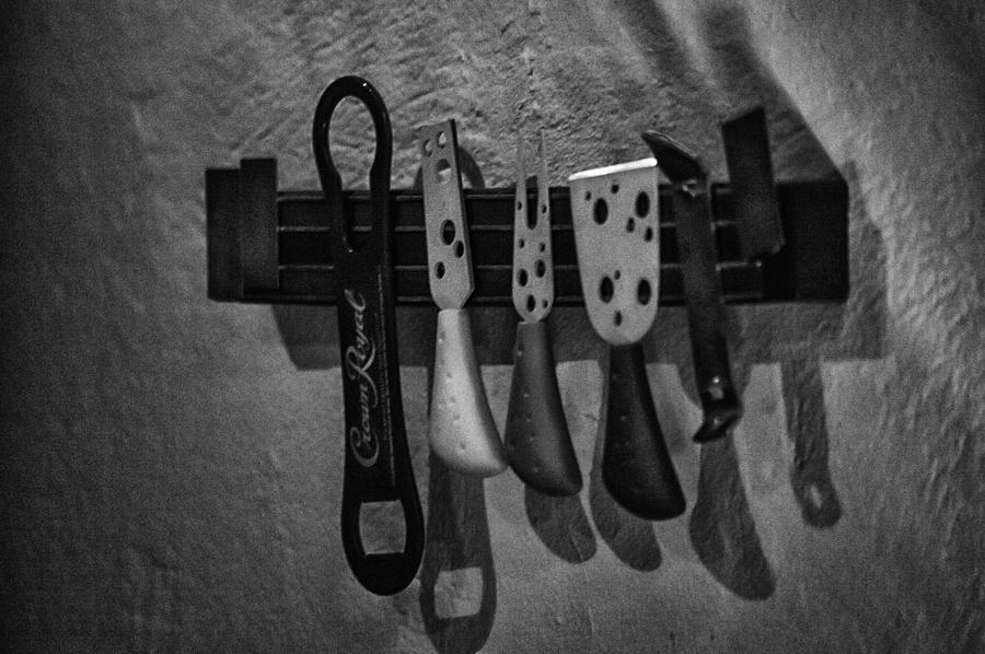 Shadows Photograph - Tools Of The Trade by Brenda Bryant
